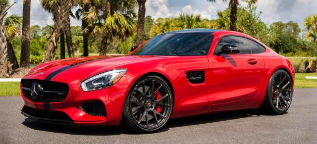 Tuning: Mercedes-AMG GT S: Rot und rassig: RENNtech AMG GT S