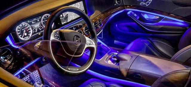 Guck mal rein: 1. Foto vom Interieur des neuen Mercedes S63 AMG: Die ...