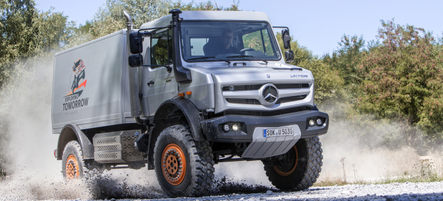 Off-Road-Profi mit 300 PS und 1.200 Nm: Unimog U 5030 - Sondermodell powered by Hellgeth ...