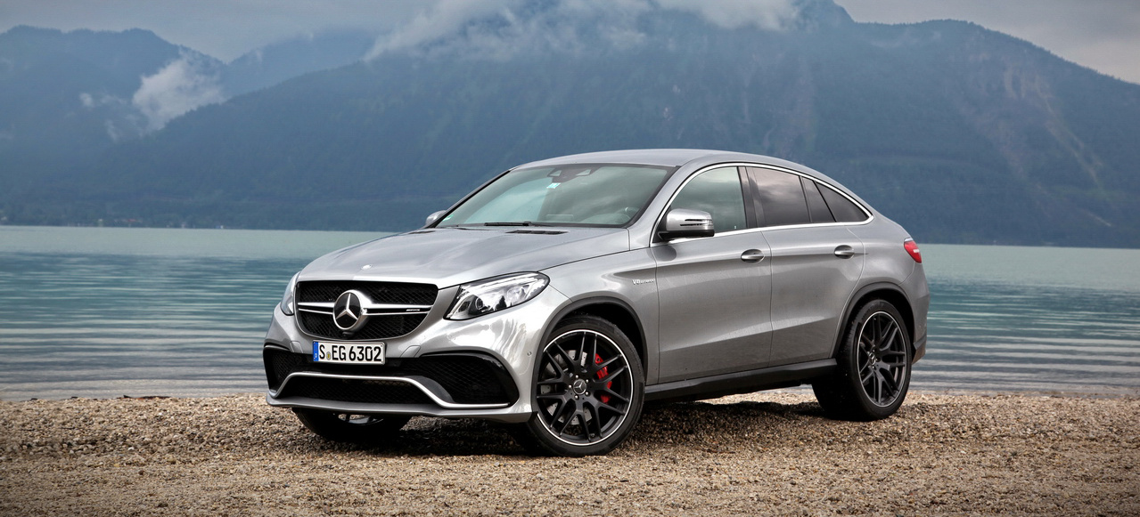 Mercedes Benz Cla >> Das neue Mercedes-AMG GLE Coupé im Fahrbericht: Edel-SUV ...
