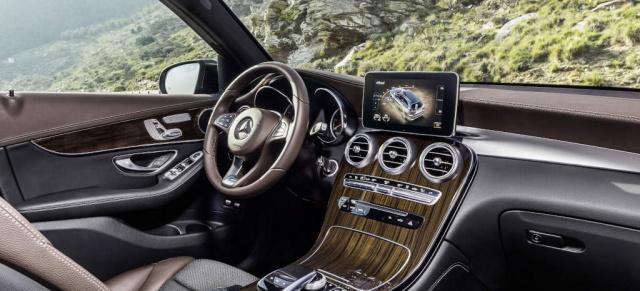 """Mercedes-Benz GLC: Liste der """"10 Best Interiors 2016 ..."""