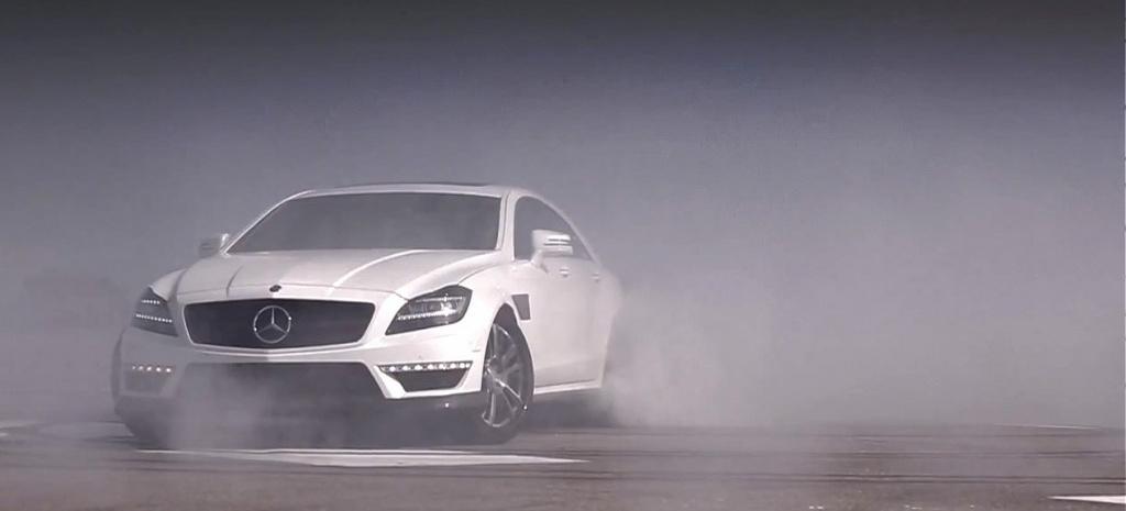Drift Mercedes C Amg