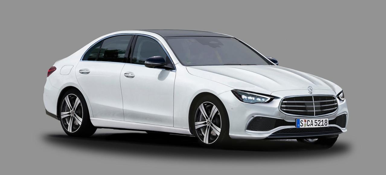 Mercedes von morgen: Neue Renderings: Sieht so die neue C ...