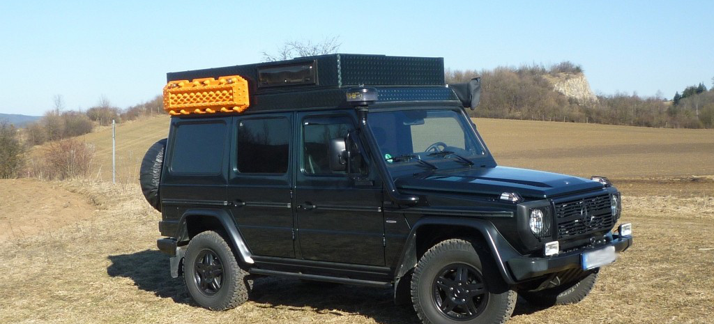 Mercedes g modell von desert service fern g reister f r for Mercedes benz service g