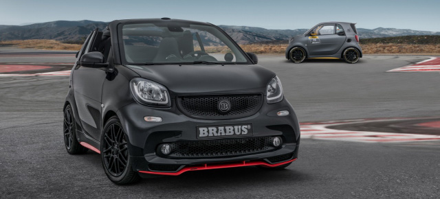 brabus 125r smart fortwo cabrio auf geschossniveau. Black Bedroom Furniture Sets. Home Design Ideas