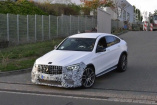 Mercedes-AMG Erlkönig erwischt: Star-Spy-Shot-Video: Mercedes-AMG GLC 63 / Coupé MoPf