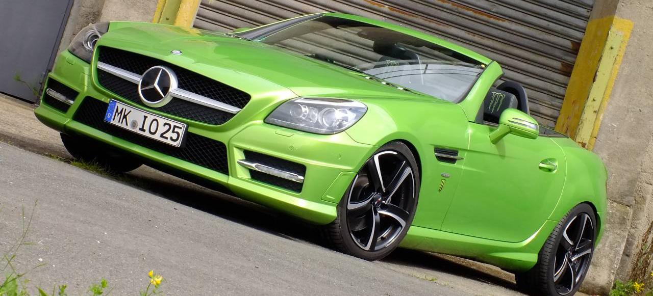 Gr 252 N Und K 252 Hn Mercedes Benz Slk 350 Edition 1 Der Slk