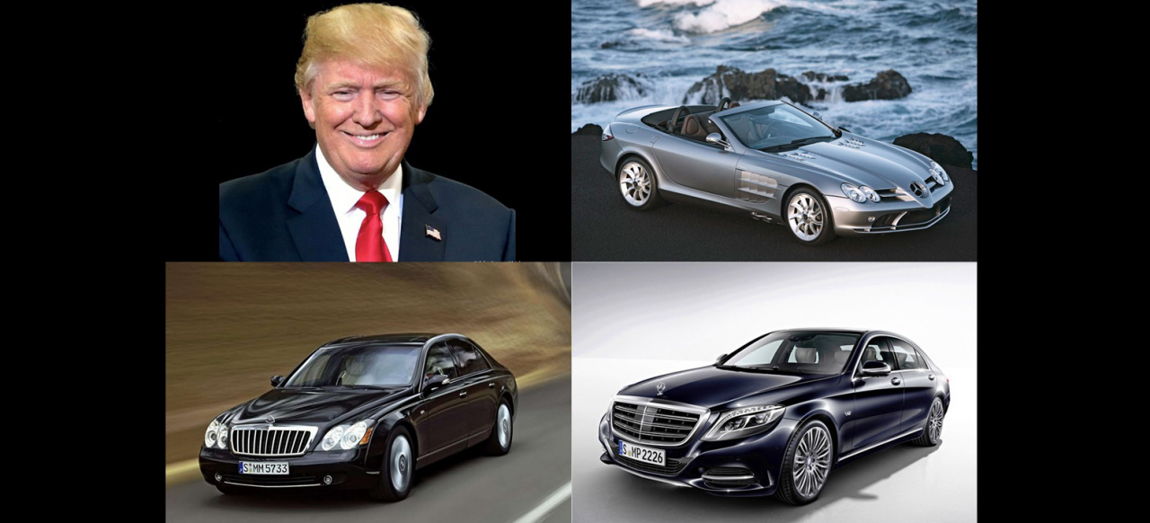 Donald Trump mag Mercedes-Benz : Donald Trumps Griff nach den Sternen ...