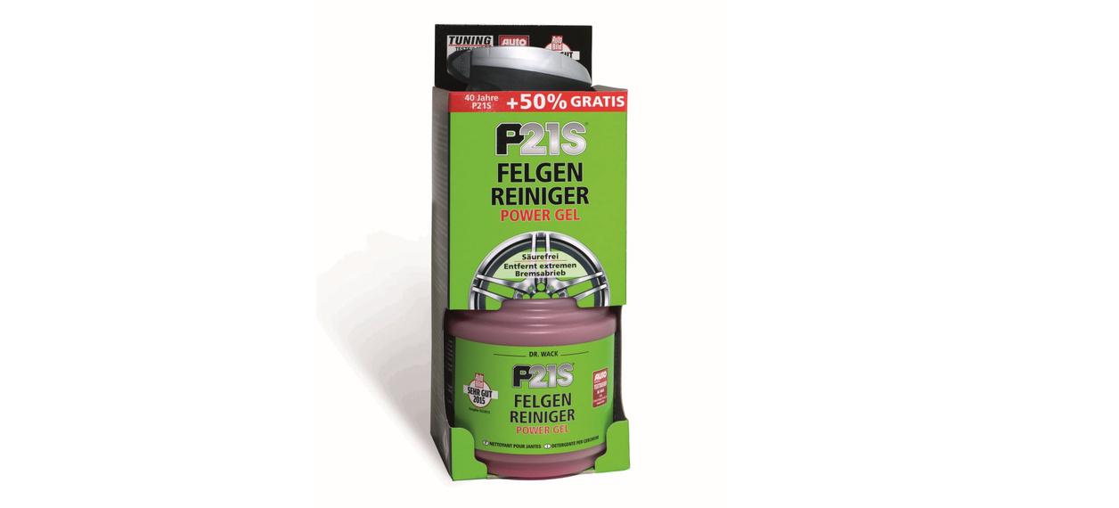 fr hjahrsputz f r die felgen neuer sprayer p21s felgen reiniger power gel von dr wack news. Black Bedroom Furniture Sets. Home Design Ideas