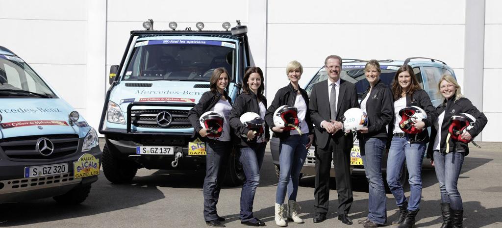 Rallye Des Gazelles Mercedes Sprinter