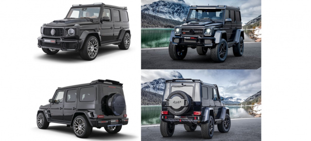 "BRABUS Doppelhammer in Genf: 2 superstarke Weltpremieren: BRABUS‭ ‬800‭ ‬WIDESTAR & BRABUS‭ ‬850‭ ‬6.0‭ ‬Biturbo‭ ‬4x4²‭ ‬Final Edition‭ ""‬1‭ ‬of‭ ‬5‭"""