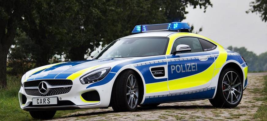 Kann das wahr sein? Mercedes-AMG GT S als Polizeiwagen ...