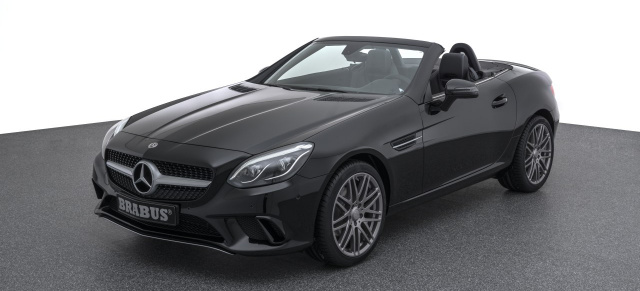 Mercedes-Benz SLC : Besonderer Roadster mit Stern: BERESA SLC BRABUS Edition 1 of 40