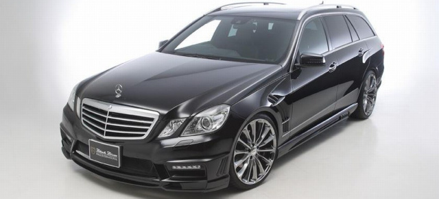 T Wie Titan Tuning F 252 R Mercedes E Klasse Kombi Wald International Pr 228 Sentiert Black Bison Kit
