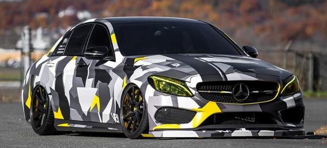 "Mercedes-AMG C43 Tuning: ""Tieflieger"" im Tarnkappenkleid"