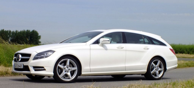 Mercedes Cls 350 Shooting Brake Attraktion F 252 R Praktiker