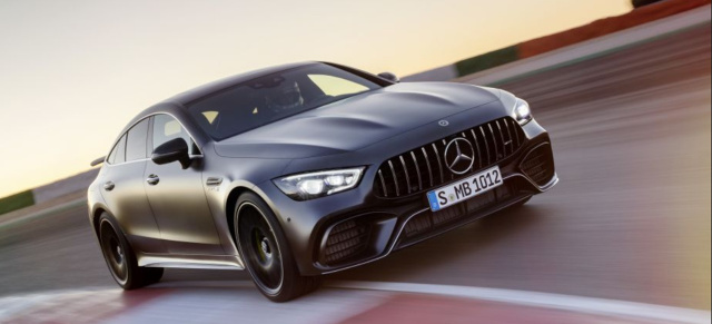 Nürburgring Rekord Mercedes Amg Gt 63 S 4matic 4 Türer Coupé