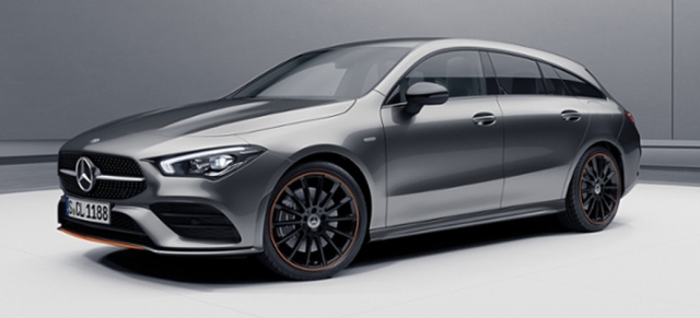 Mercedes-Benz CLA Shooting Brake II: So sieht's aus: Sondermodell CLA Shooting Brake II Edition 1