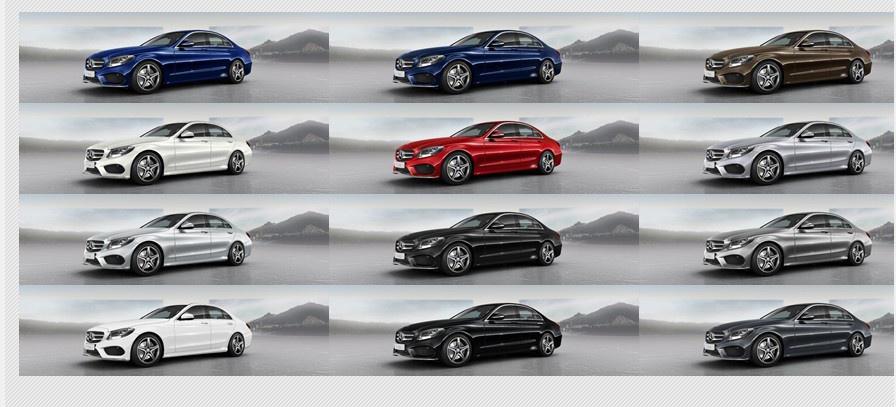 Farbcode Mercedes C Klasse W Farben