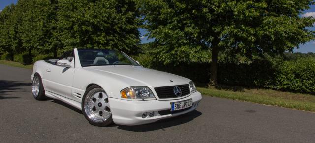 Der Amerikaner Mercedes Benz Sl500 R129 Acht Zylinder