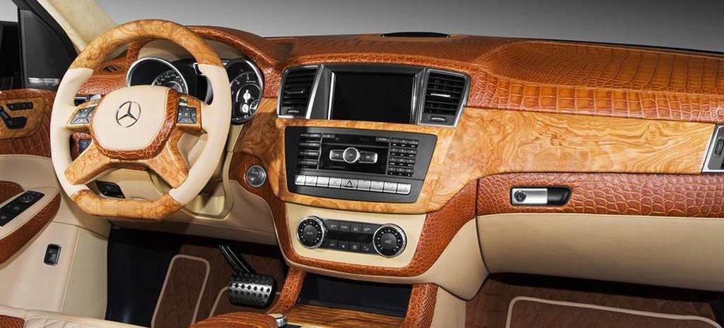 Auto Performance Shop >> Schönheit, die von innen kommt: Mercedes ML 63 AMG mit Edel-Lederinterieur: TopCar möbelt die ...