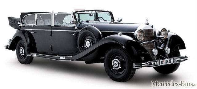 Mercedes benz 770k gro er mercedes von adolf hitler for Mercedes benz germany careers
