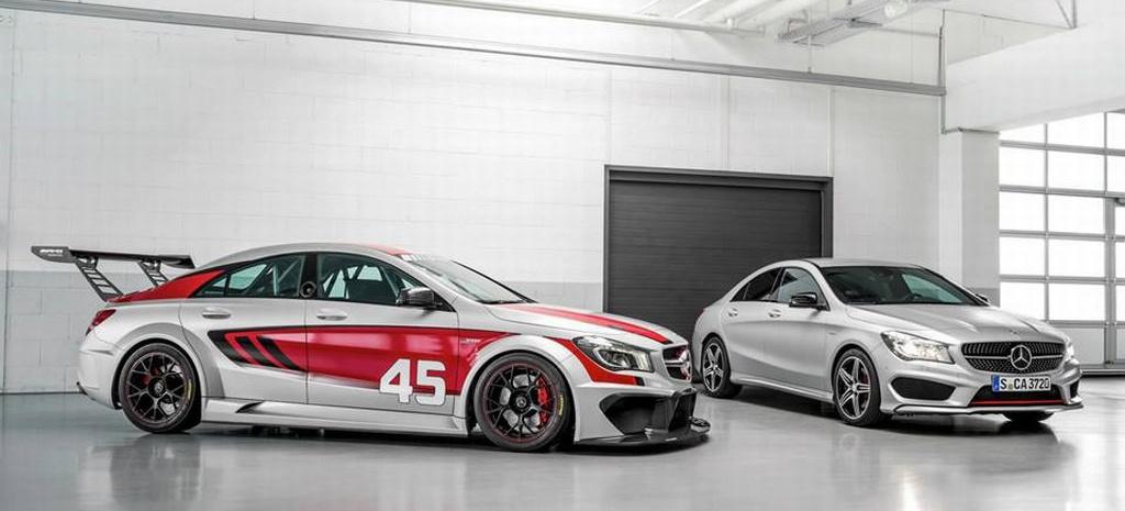 Gla 45 Amg >> Debüt für doppeltes Mercedes CLA-Flottchen: CLA 45 AMG Racing Series und CLA 250 Sport : Auf der ...