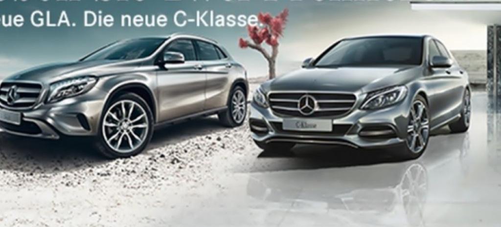Gegl ckte doppelpremiere wollten mercedes gla und for Mercedes benz gla 300