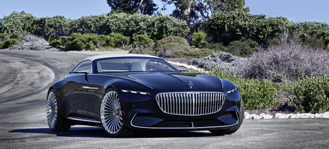 Premiere Mit Wow-Effekt: Mercedes-Maybach Luxus-Cabriolet In