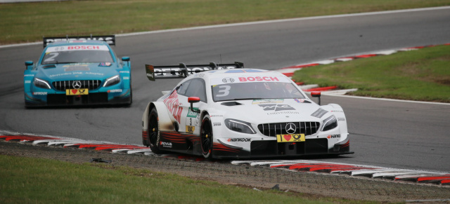 DTM in Brands Hatch: Mercedes-AMG DTM Team in Brands Hatch unschlagbar!