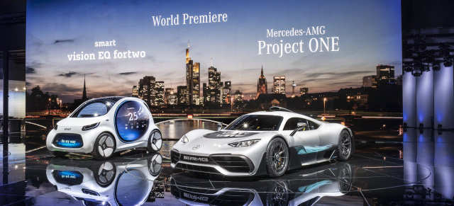 Mercedes-Benz Cars auf der IAA 2017: Mercedes Media Night : Live-Bilder vom Mercedes-AMG Project One