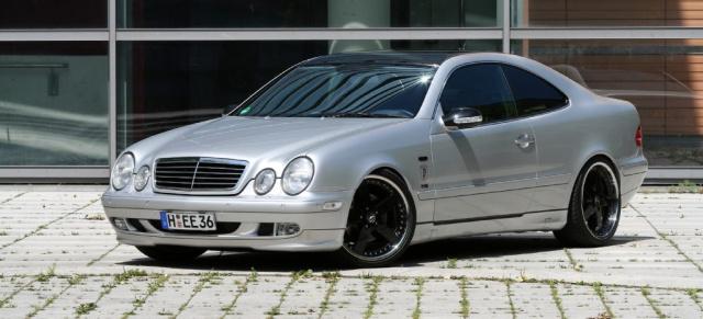 Dreiecksbeziehung Mercedes Tuning Geschmackvoll Veredelter Clk 320 Auto Der Woche Mercedes
