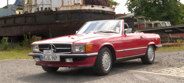 Vom Young zum Oldtimer 1987 Mercedes Benz 300 SL R107 Classic