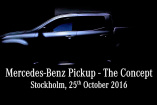 A new Star is born: Mercedes-Benz Pickup: Teaser-Video: Mercedes-Pickup Konzept zeigt sich im Kurzfilm