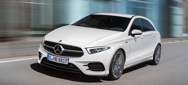 Mercedes Benz A Klasse Neue Infos Ausblick Auf Die Neue A Klasse