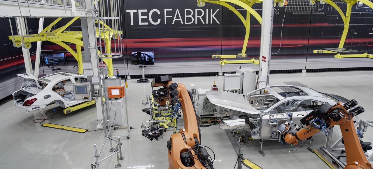 Mercedes benz smart factory digitalisierung produktion for Mercedes benz factory in alabama
