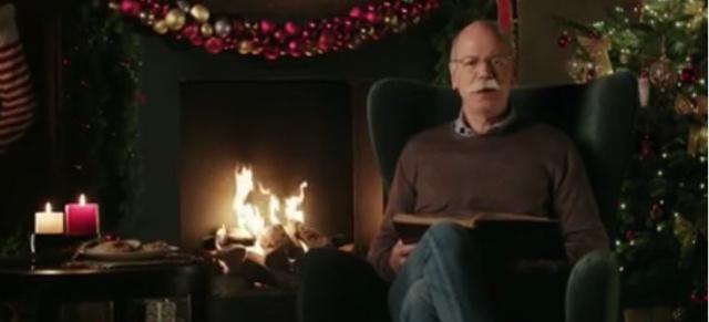 video an die mitarbeiter weihnachtsgr e von dr zetsche. Black Bedroom Furniture Sets. Home Design Ideas