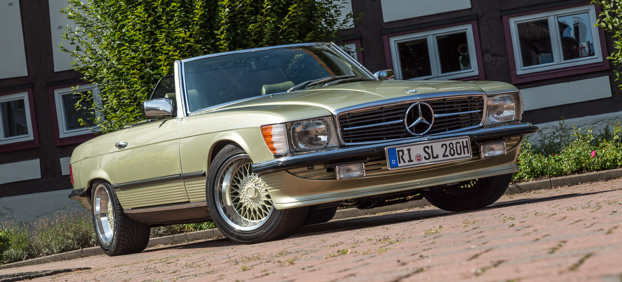 balsam f r die seele 1981er mercedes benz 280 sl w107. Black Bedroom Furniture Sets. Home Design Ideas