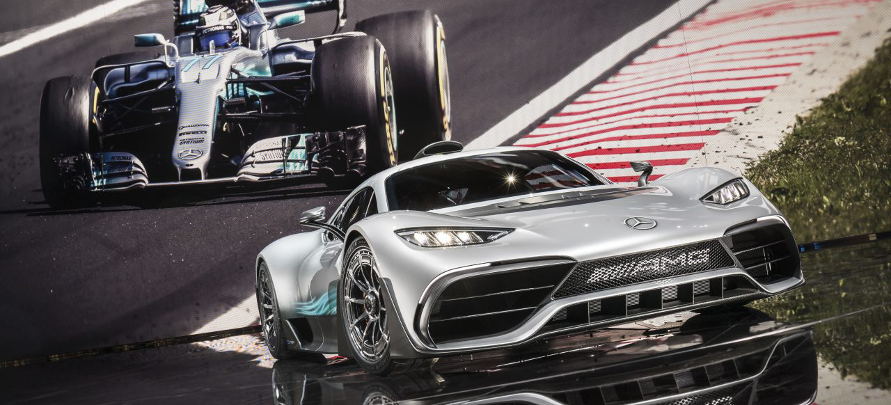 Iaa 2017 future of driving performance kampagnen video for Mercedes benz project one