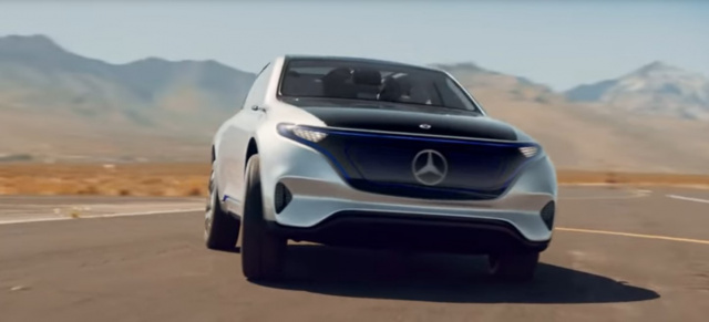 "Mercedes-Benz EQ: Sound of Silence: Video: Mercedes-Benz Concept EQ ""Goodbye noise"""