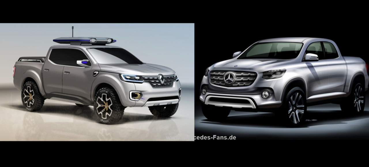 vorschau wieviel mercedes pickup steckt in dem renault alaskan concept renault pr sentiert. Black Bedroom Furniture Sets. Home Design Ideas