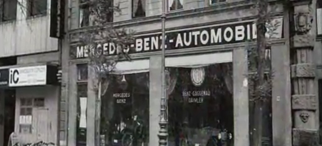 jubil um 100 mercedes benz niederlassung aachen 1912 er ffnet die erste verkaufsstelle in der. Black Bedroom Furniture Sets. Home Design Ideas