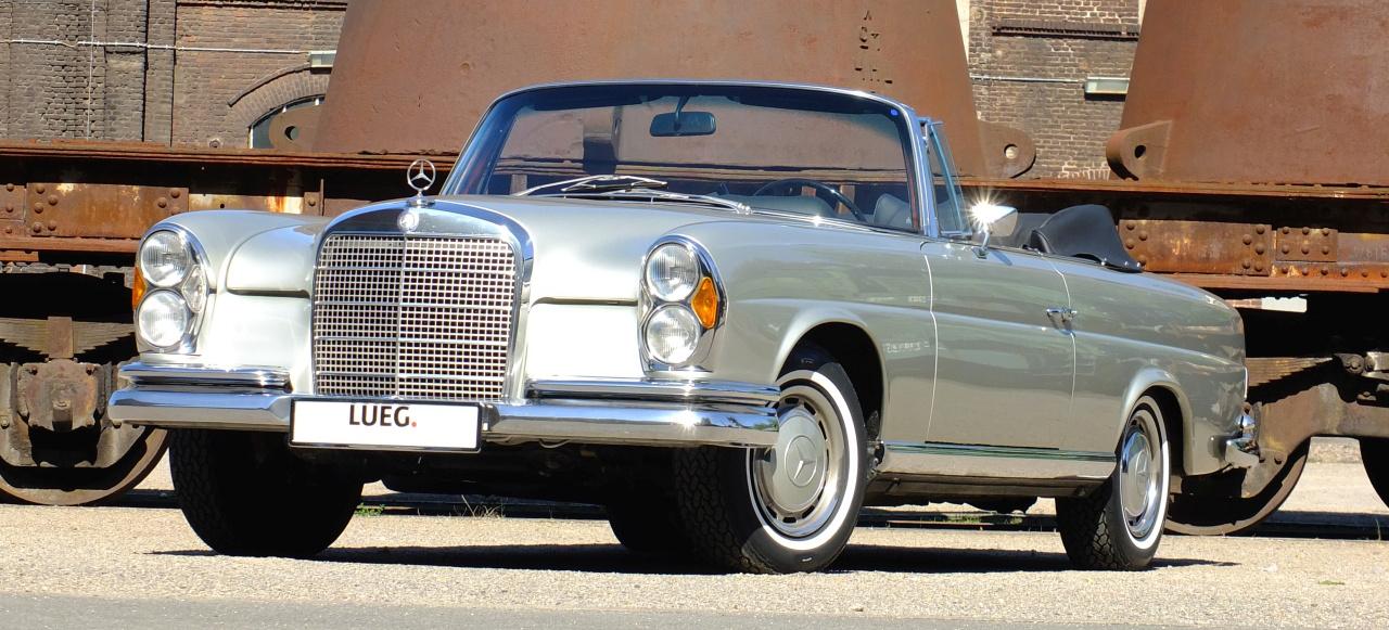 zeitlos sch n und selten 1969 mercedes benz 280 se cabrio w111 von lueg classic classic. Black Bedroom Furniture Sets. Home Design Ideas