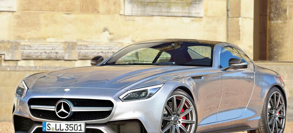 Neuer Mercedes Sportwagen Gt Porsche 911 Killer Kommt