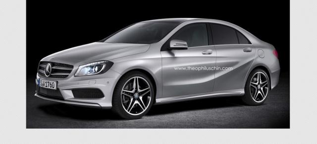 Geruchtekuche Mercedes A Klasse Limousine Kommt Die Stuttgarter