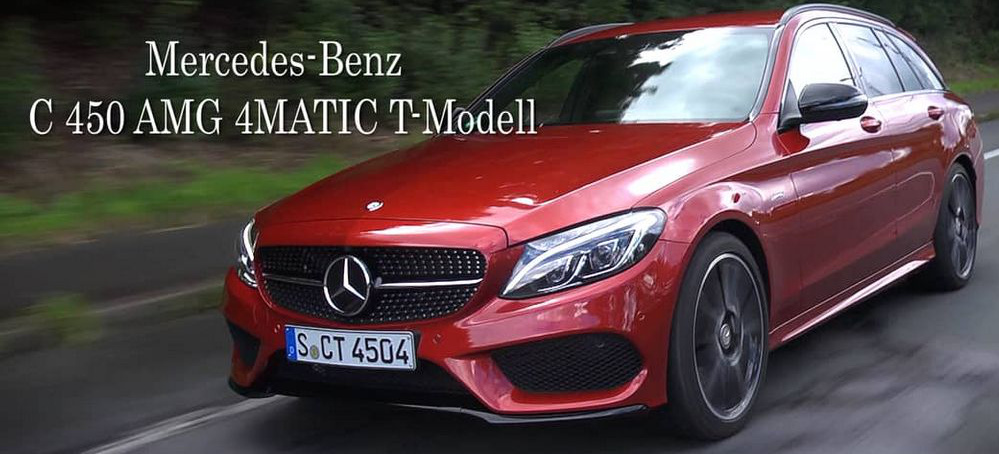 """Mercedes Citan Tuning >> Nur ein """"halber"""" AMG?: Der scharfe Schlitten: Video-Fahrbericht Mercedes-Benz C 450 AMG ..."""
