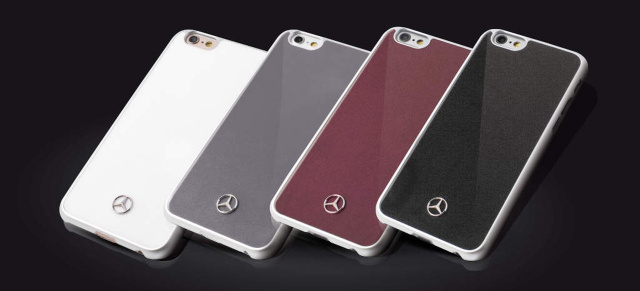 Smartphone-Hüllen passend zum Mercedes-Benz: Neue Mercedes-Benz Smartphone Cover Collection