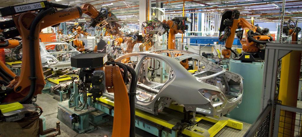 Mercedes Benz Produktion