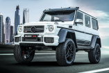 "BRABUS 700 4x4² ""one of ten"" Final Edition: Limitierte Off-Road-Supercar-Auflage mit 700 PS"