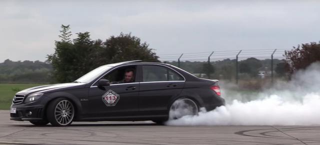 Video: Mercedes C63 AMG : Super Sound: Mercedes C63 AMG mit